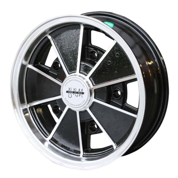 BRM wheel, aluminium/black15 x 55 lug (5x205)ET +5 - Exterior - Wheel rims and accessories - BRM wheel  - Flat 4