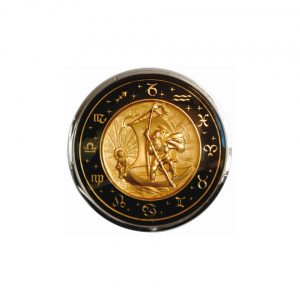 St Christopher horn button - Interior - Shifters and steering wheels - Flat-4 steering wheels and accessories  - Flat 4