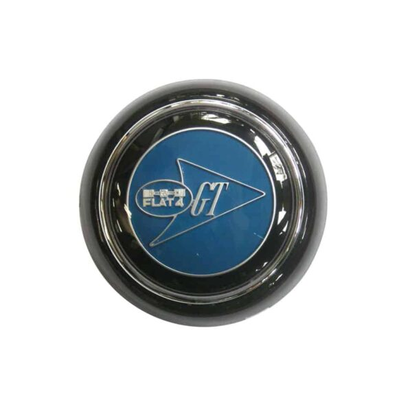 Horn button, black with GT logo - Interior - Shifters and steering wheels - Flat-4 steering wheels and accessories  - Flat 4
