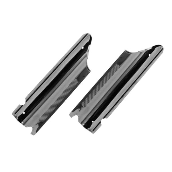 Door post guard, S/S, as pair - Interior - Upholstery and accessories - Chrome doorsill  - Generic