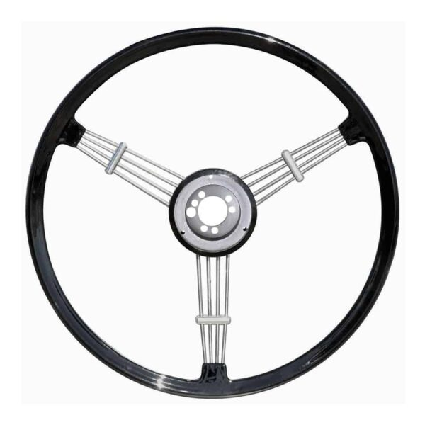 Banjo steering wheel, black - Interior - Shifters and steering wheels - Flat-4 steering wheels and accessories  - Flat 4