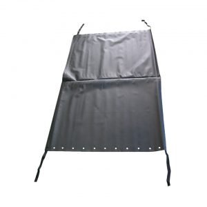 Sunroof top/ black - Interior - Headliner clothing and sunvisors - Sliding roof parts  - Generic