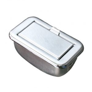 Ashtray in dashboard, chromed - Interior - Dashboard and accessories - Ashtray  - Generic