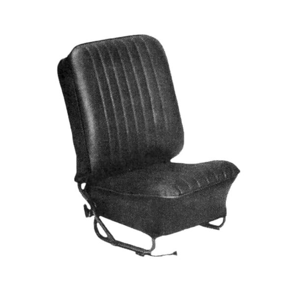 Smooth vinyl - Interior - Seats and accessories - Seat covers  - Generic