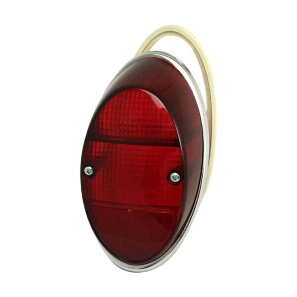 Taillight lens with rim and rubber (USA) TQ - Electrical section - Lights and glasses - Tail lights  Beetle  - Generic