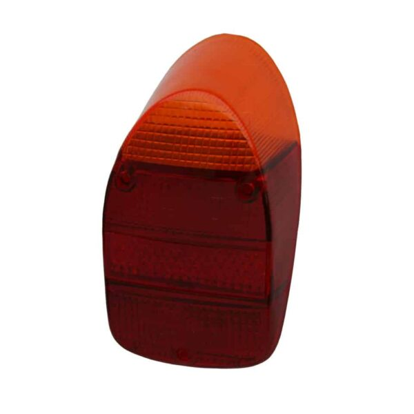 Tail light lens, EuropeanOrange/red/redeach - Electrical section - Lights and glasses - Tail lights  Beetle  - Generic