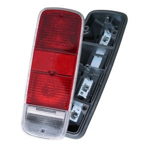 Tail light, red, economy, each - Electrical section - Lights and glasses - Tail lights  Bus  - Generic