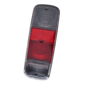 Tail light lens, smoke, economy, each - Electrical section - Lights and glasses - Tail lights  Bus  - Generic