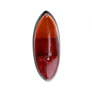 Tail light lens red, European, each - Electrical section - Lights and glasses - Tail lights Karmann Ghia  - Generic