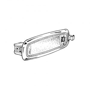 Dome light, sedan - Electrical section - Lights and indicators - Dome light  - Generic